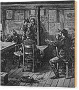 Gold Rush: Miners, 1887 Wood Print