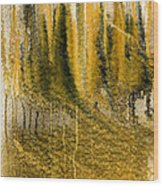 Golden Autumn Forest Wood Print