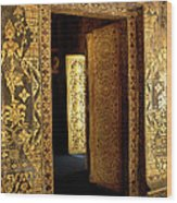 Golden Doorway 2 Wood Print