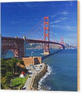 Golden Gate Bridge 1. Wood Print