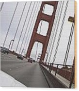 Golden Gate Bridge San Francisco California Usa Wood Print