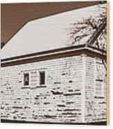 Golden Hill School 1860 - 1958 Wood Print