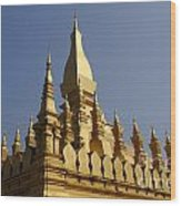 Golden Palace Laos 2 Wood Print