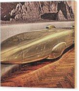 Golden Rod Dearborn Mi Wood Print
