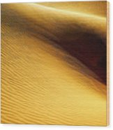 Golden Sands Of Libya Wood Print