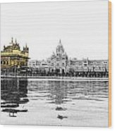 Golden Temple India Wood Print