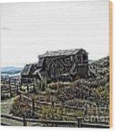 Goldfield Colorado Wood Print