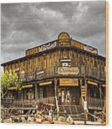 Goldfield Ghost Town - Peterson's Mercantile  Wood Print