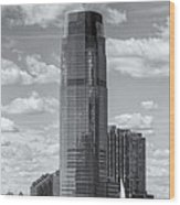 Goldman Sachs Tower Iv Wood Print