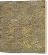 Goldtone Stone Abstract Wood Print