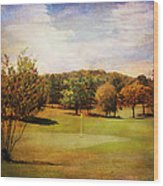 Golf Course IIi Wood Print