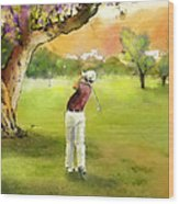 Golf In Spain Castello Masters  04 Wood Print