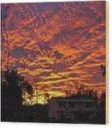 Good Morning  1973 Wood Print