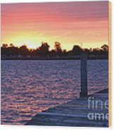 Good Morning From Marysville Michigan Usa Wood Print