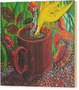 Good Morning Joe Wood Print