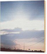 #good #morning #sunshine Wood Print by Kel Hill