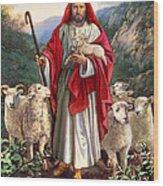 Good Shepherd Wood Print