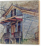 Goodman General Merchandise Wood Print