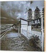 Goolwa Station Wood Print