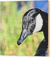 Goose Art Wood Print