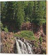 Gooseberry Falls Wood Print