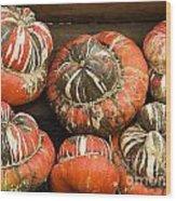 Gorgeous Gourds Wood Print