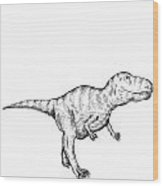 Gorgosaurus - Dinosaur Wood Print