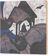 Got Bats Wood Print