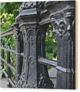 Gothic Design Wood Print