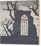 Gothic Landscape Wood Print