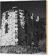 Gothic Tower Of The City Observatory Edinburgh Scotland Uk United Kingdom Wood Print