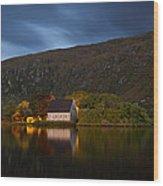 Gougane Barra Ireland Wood Print