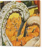 Gourd Heart Wood Print