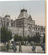 Government Palace In Nizhny Novgorod - Russia Wood Print