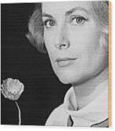 Grace Kelly (1928-1982) Wood Print