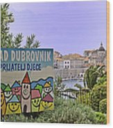 Grad Dubrovnik Wood Print