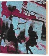 Graffiti - Urban Art Serigrafia Wood Print
