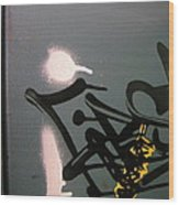 Graffiti Iv Wood Print