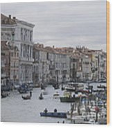 Gran Canal. Venice Wood Print