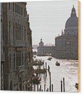 Grand Canal Venice 01 Wood Print