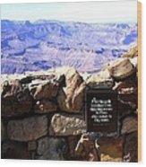 Grand Canyon 35 Wood Print