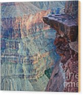 Grand Canyon A Place To Stand Wood Print