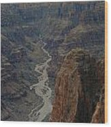 Grand Canyon-aerial Perspective Wood Print