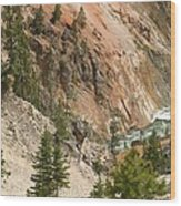 Grand Canyon And Yellowstone River Wood Print