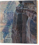 Grand Canyon Close Enough Wood Print