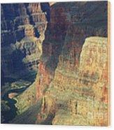 Grand Canyon Magic Of Light Wood Print
