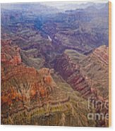 Grand Canyon Morning Scenic View Wood Print