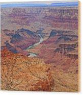 Grand Canyon Nationa Park Painting Wood Print