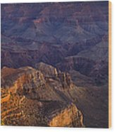 Grand Canyon Panorama Wood Print by Andrew Soundarajan