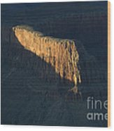 Grand Canyon Point Of Light Wood Print